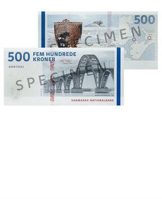NEW 500-kroner banknote series 2009A