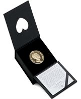 HM Queen Margrethe II´s 80th birthday - Proof version (20-krone coin in a box)