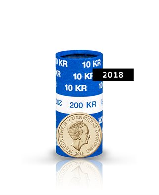 10-krone - 2018 - Uncirculated coin (roll of 20 pcs)