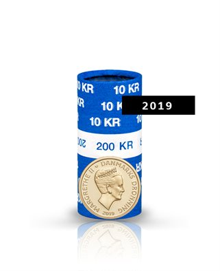 10-krone - 2019 - Uncirculated coin (roll of 20 pcs)