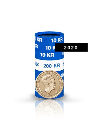 10-krone - 2020 - Uncirculated coin (roll of 20 pcs)
