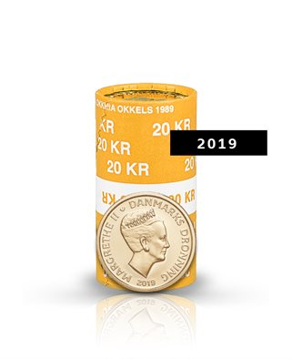 20-krone - 2019 - Uncirculated coin (roll of 20 pcs)