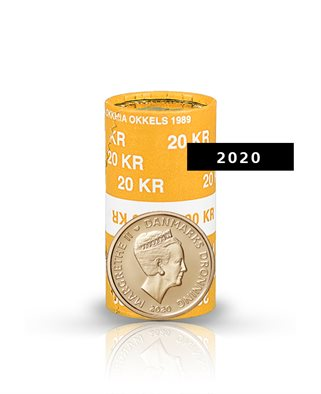 20-krone - 2020 - Uncirculated coin (roll of 20 pcs)