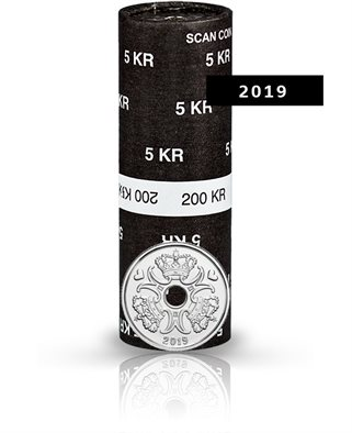 5-krone - 2019 - Uncirculated coin (roll of 40 pcs)