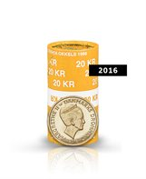20-krone - 2016 - Uncirculated coin (roll of 20 pcs)