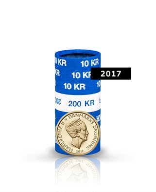 10-krone - 2017 - Uncirculated coin (roll of 20 pcs)