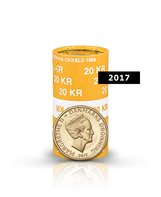 20-krone - 2017 - Uncirculated coin (roll of 20 pcs)