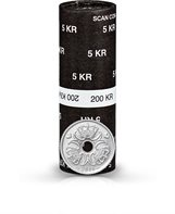 5-krone - 2016 - Uncirculated coin (roll of 40 pcs)