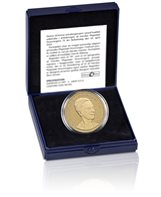 HM Queen Margrethe II´s 75th birthday - Proof version (20-krone coin in a box)